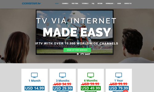 Comstar.tv IPTV Review